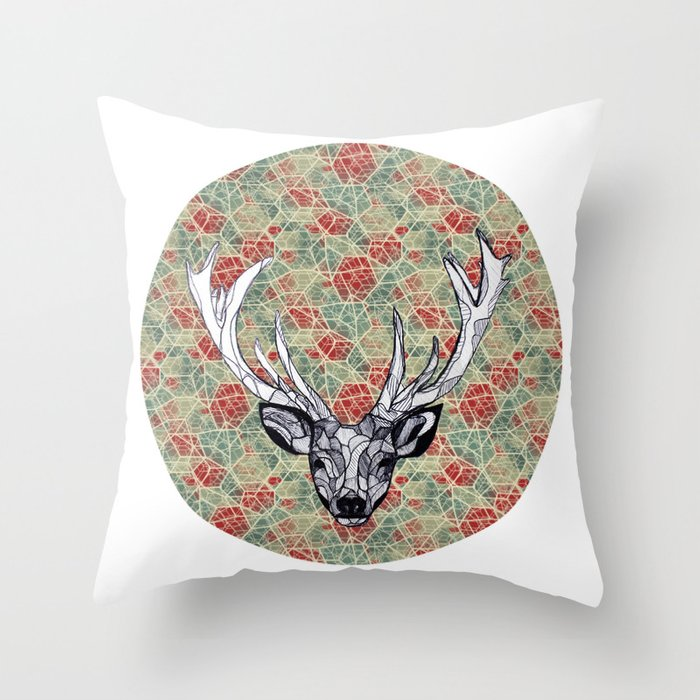 Oh Dear. Throw Pillow
