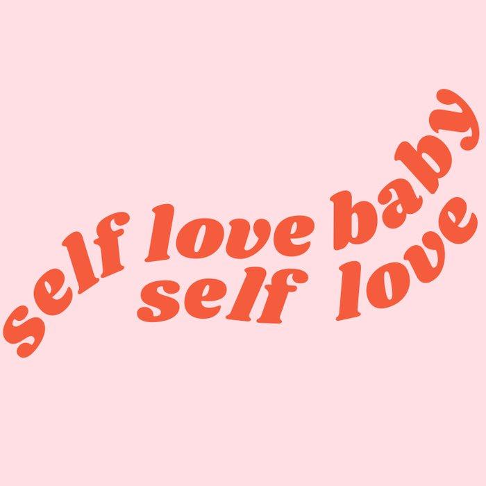 self love baby self love Duvet Cover