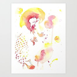 Re Art Print