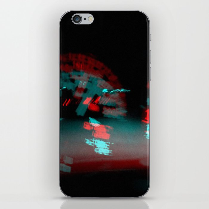 degenerated speed iPhone Skin