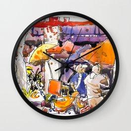 20170311B Golden Shoe USKSG Wall Clock