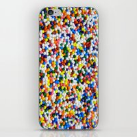 sprinkles iPhone & iPod Skins featuring Sprinkles by Electric Avenue