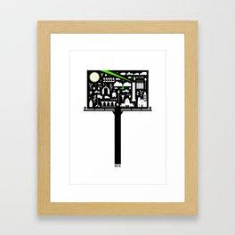 Mty NL Framed Art Print