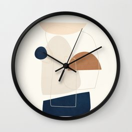 Spiraling Geometry 4 Wall Clock
