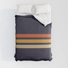 Vintage Retro Stripes Comforters