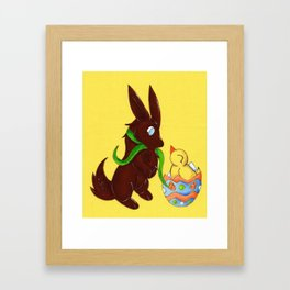 Hello, Little Fella! Framed Art Print