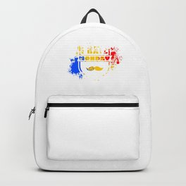I Hate Monday Funny School Work Statement Backpack