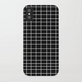 Squares of Black iPhone Case