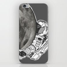 Troubled Moons and Spacemen iPhone Skin