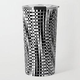 black white 09 Travel Mug