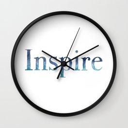Inspire Wall Clock