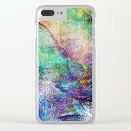 Mermaid Sea Ocean Shell Clear iPhone Case