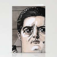 dale cooper Stationery Cards featuring Dale Cooper by Drawn by Nina