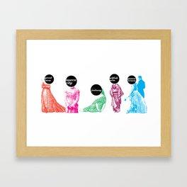 My Demons  Framed Art Print