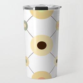 Circles and Wires Travel Mug