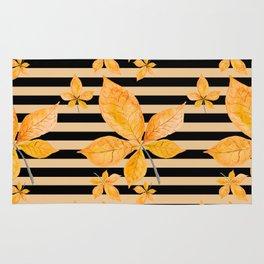 Autumn leaves #14 Rug