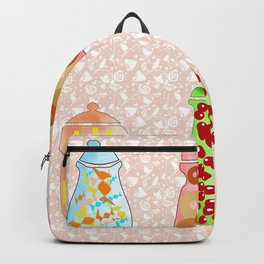 what's in the jars? Backpack
