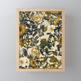 Warm Winter Garden Framed Mini Art Print