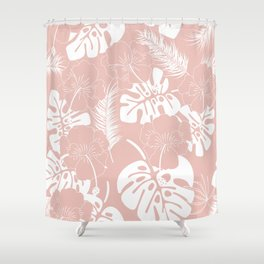 Tropical pattern 020 Shower Curtain