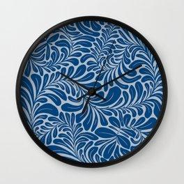 Tropic Blue Wall Clock