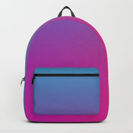 WIZARDS CURSE - Minimal Plain Soft Mood Color Blend Prints Backpack