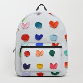 Polka Daubs and Hearts Backpack