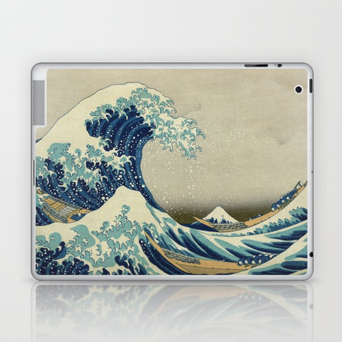The Great Wave off Kanagawa Laptop & iPad Skin