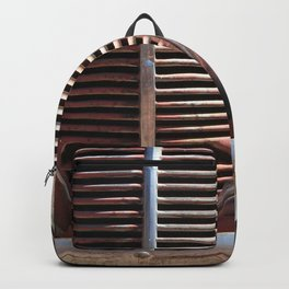 Truck Grill, Old Truck, Old Truck Grill Backpack