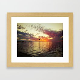 Dock of the Bay Framed Art Print