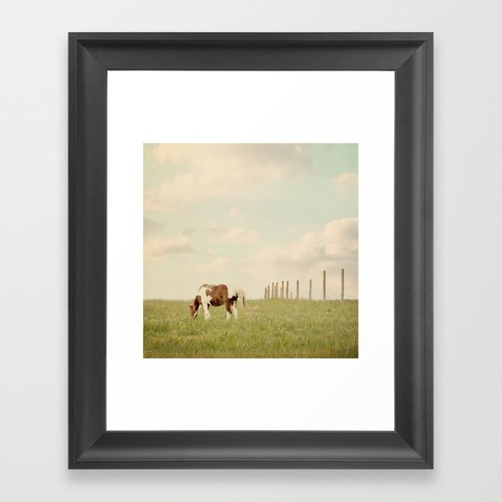 Idyllic  Framed Art Print
