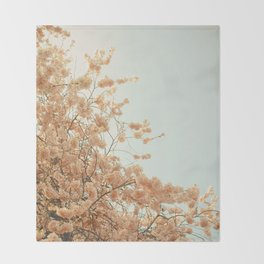 Spring is Here Throw Blanket