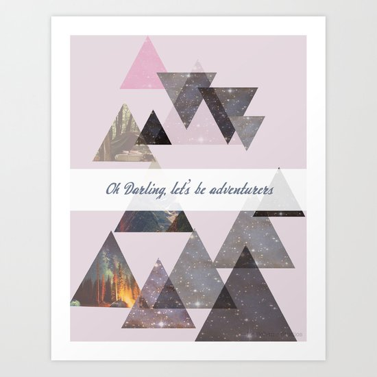 Oh, Darling... Art Print