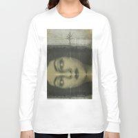 lolita Long Sleeve T-shirts featuring Lolita by Nikoletta Bati