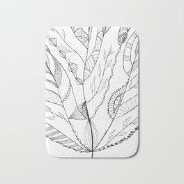 Amazing Leaves Bath Mat