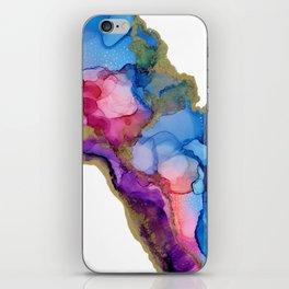 Golden River Flow iPhone Skin