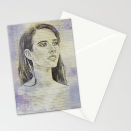 Emma on Legal Pad Stationery Cards
