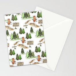 Jersey Devil Welcomes You to the Pine Barrens! Stationery Cards