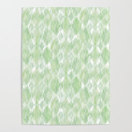 Harlequin Marble Mix Greenery Poster