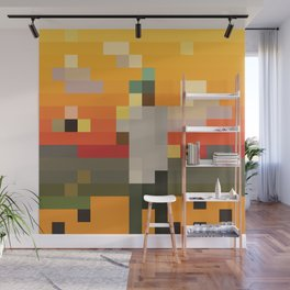 Scum Pixel Flower Boy Wall Mural
