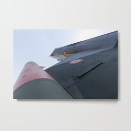 Lockheed F-104 Starfighter Metal Print