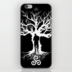 Spectrum (White Ink Vers.) iPhone & iPod Skin