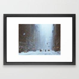 Melic Framed Art Print