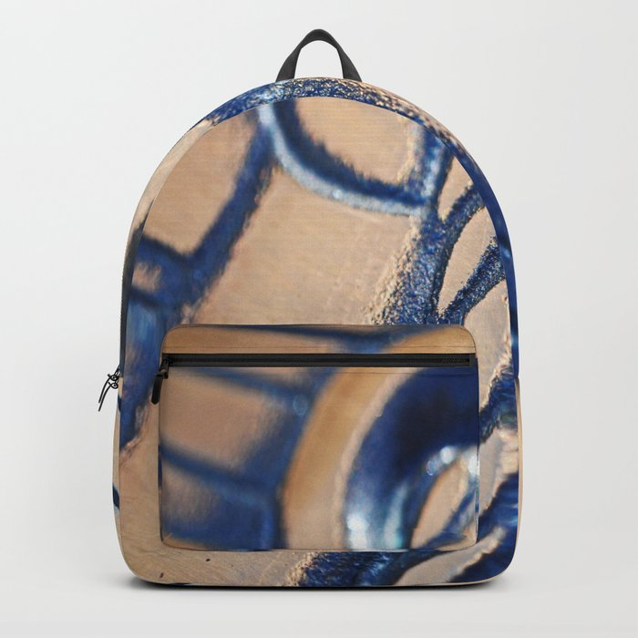 Abstract and Gold Backpack