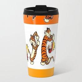 calvin and hobbes Travel Mug