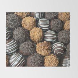 Truffle Chocoholic Fudge Mania Throw Blanket