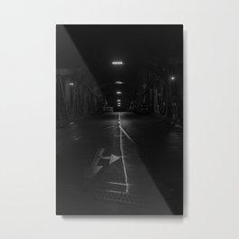 next left Metal Print