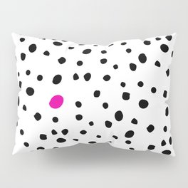 Stand out from the crowd - Dalmatian print Pillow Sham