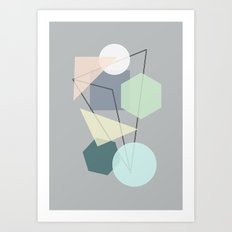 Graphic 113 Art Print