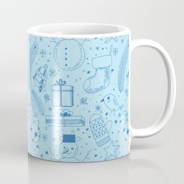 Doodle Christmas pattern Coffee Mug