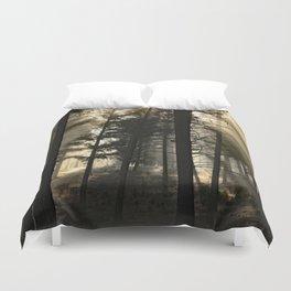 Woodland Sunrise Duvet Cover